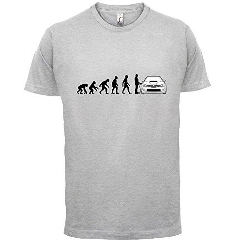 Evolution of Man - Impreza Fahrer - Herren T-Shirt - 13 Farben Hellgrau