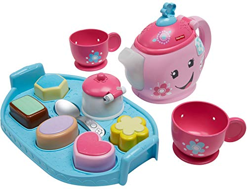 Fisher-Price dym76 Laugh and Learn Sweet Manners Tee Spielset Sugar Tray Set