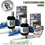 Kit encre-pack X2Kits tinta negro Epson T066–Jet tinta