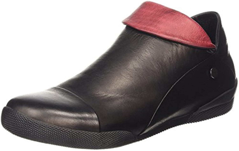 Andrea Conti 0590452 - Zapatillas de casa de Cuero Mujer