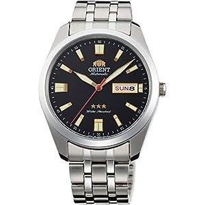 Orient Reloj Analógico para Unisex Adultos de Automático con Correa en Acero Inoxidable RA-AB0017B19B