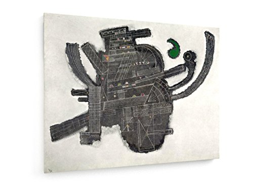 Wassily Kandinsky - Verde Accent - Pittura - 100x75 cm - weewado - Belle stampe d