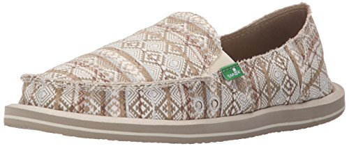 Sanuk, Scarpe stringate donna Multicolore natural/multi tribal stripes Multicolore (natural/multi tribal stripes)