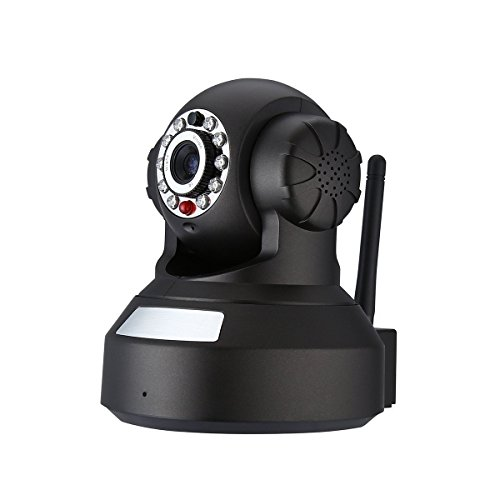Galleria fotografica Powerextra Telecamera IP Camera WIFI Ethernet, LED 720P HD Telecamera Di Sorveglianza Videocamera Di Sicurezza, Dome Cam | Audio Bidirezionale | Visione Notturna A Infrarossi