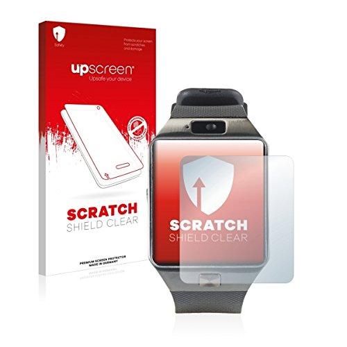 upscreen Scratch Shield Clear Bildschirmschutz Schutzfolie für Simvalley Mobile PX-4057 (hochtransparent, hoher Kratzschutz)