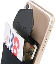 Sinjimoru Funda ultradelgada engomada para Tarjetas o Dinero, diseñada para teléfonos Inteligentes iPhone y An