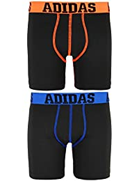 adidas Boys' Climalite Boxer Brief (2-Pack)