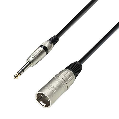 K3 BMV 0100 - Cable micrófono conector XLR macho