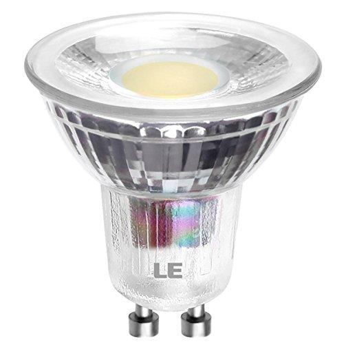 LE 5W MR16 GU10 Lampadine LED, Pari alogene 60W 420lm 3000K Bianca Calda