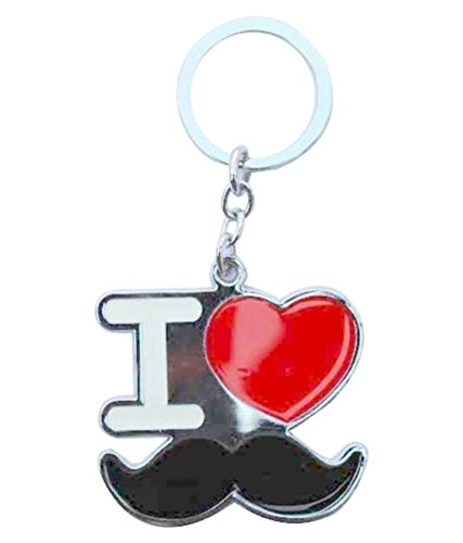 Kolossalz I Love Mooch Big Keychain || Bike Keychain || Key Chain For Bike || Keyring || Key Ring ||Mooch & Beard...