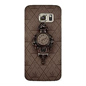 Neo World Ancient Wall Clock Back Case Cover for Samsung Galaxy S6 Edge