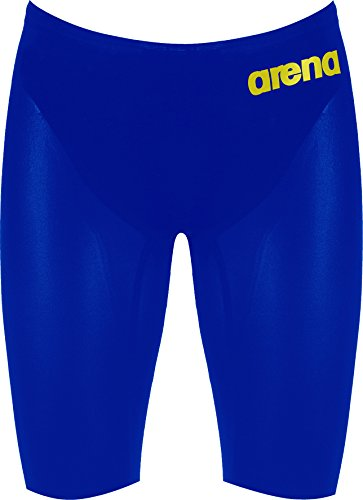 Arena powerskin r-eVO wettkampfhose paddles de natation pour homme Bleu - Electric-Blue/Fluo-Yellow