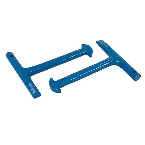Preisvergleich Produktbild Silverline 868537 Schachtschlüssel zum Heben von Mannlochabdeckungen, 2er-Pckg. 125 mm