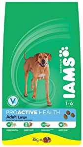 IAMS Adult Large Breed Chicken Dry Dog Food 3 kg (Pack of 3) by Procter & Gamble