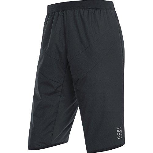 GORE WEAR Herren Power Trail Windstopper Insulated Shorts, Schwarz, M