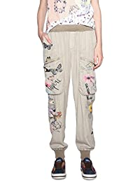 Desigual Pant_eddy, Pantaloni Donna