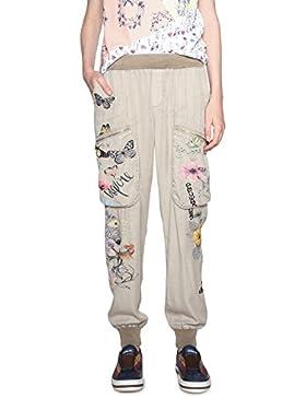 Desigual Pant_Eddy, Pantalones para Mujer