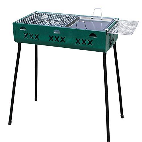 Barbecue de Charbon de Bois Portable Portable de Support de Barbecue de Barbecue de Charbon de Bois extérieur GW