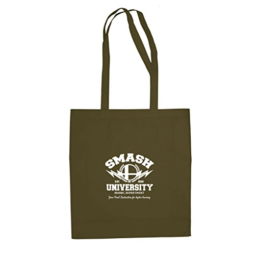 Smash University - Stofftasche / Beutel Oliv
