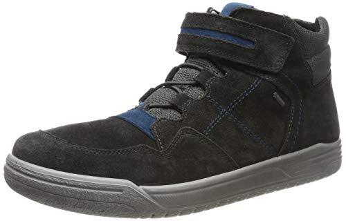 superfit Jungen EARTH-509059 Hohe Sneaker, (Grau/Blau 20), 36 EU