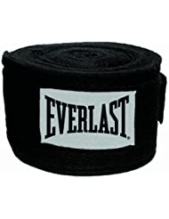 Everlast 4455B - Venda rígida, color negro