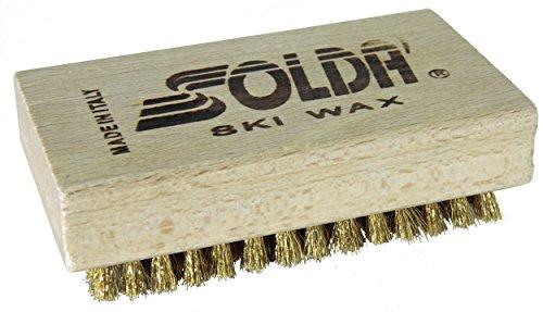 Soldà - SPAZZOLA PIANA in Ottone 110x65mm