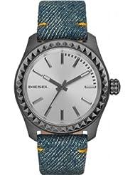 Diesel Damen-Armbanduhr Analog Quarz Textil DZ5449