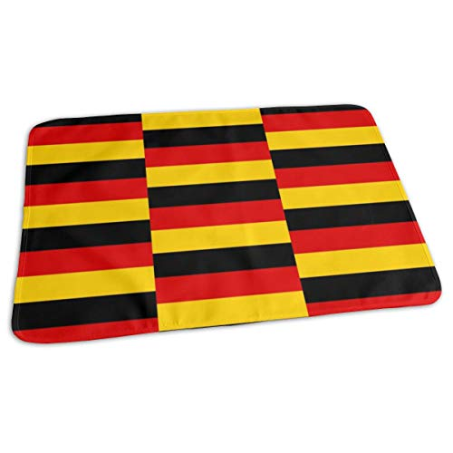 Germany Flag Baby Portable Reusable Changing Pad Mat 19.7x27.5 inch -