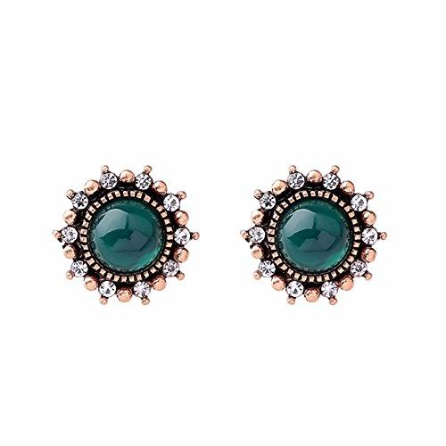 Tonpot 1Paar Süß Schön Elegant Einfach europäischen und Amerikanischen Ohrringe für Frauen - Einfach Süßes Paar Kostüm