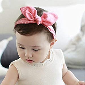 BabyMoon Girl's Headbands Turban Knotted Hairband New Born Baby Headband