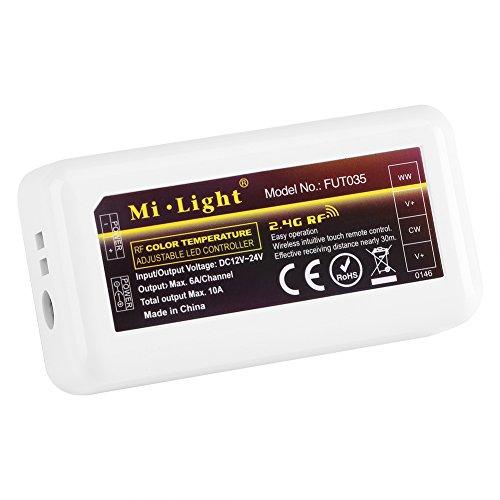 Garosa Mi Light 4 Zonen Fernbedienung WiFi Empfänger für Multicolor LED Streifen Dimmer Led Strip Dual White Controller Dual-white Led