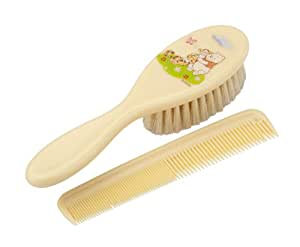 Rotho Babydesign Winnie the Pooh Comb and Brush (Cream)
