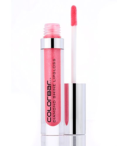Colorbar Diamond Shine Lipgloss, Pixie Pink 004, 3.8ml