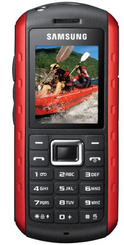 Samsung B2100 Niagara Handy (4,5 cm (1,7 Zoll) Display, Bluetooth, 1,3 Megapixel Kamera) rot Samsung 8 Gb Mp3
