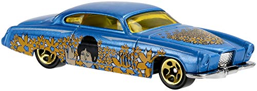 Hot Wheels Mattel dml69 The Beatles Yellow Submarine Car, por 1 Coche, selección al Azar