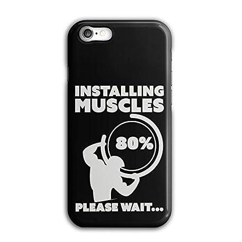 Muskel Fitnessstudio Fitness Sport Arbeit Aus iPhone 8 Hülle | Wellcoda