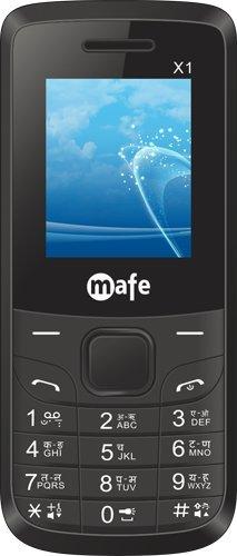 Mafe X1 BarPhone Black color image