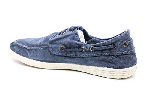 Natural World 303E - Herren Schuhe Sneaker Dunkelblau