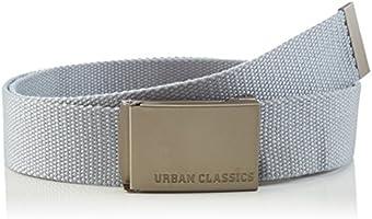 Urban Classics Unisex-Erwachsene Canvas Belts Gürtel