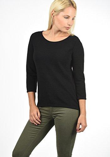 JACQUELINE de YONG by ONLY Gretel Damen Sweatshirt Pullover Sweater mit Rundhals-Ausschnitt aus hochwertiger Materialqualität Black