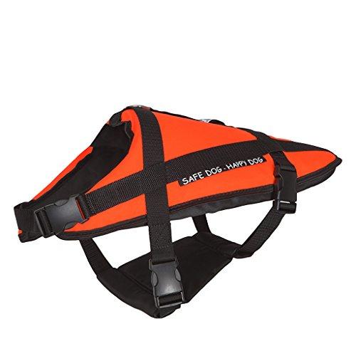Pet - Helm, Hund Helm Professionelle Badeanzug, Großen Und Mittelgroßen Hund Bekleidung, Hund Sicherheit Mantel Orange (größe : S) (Chihuahua Badeanzug)