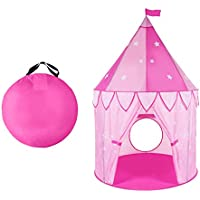WolfWise Princess Play Tent for Kids Children Toddlers & Play Tunnel Children Tunnel Kids Portable Discovery Crawl Tunnel, Pop-up