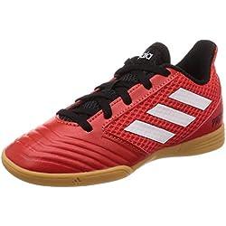 Adidas Predator Tango 18.4 Sala J, Zapatillas de fútbol Unisex Adulto, (Rojo/Ftwbla/Negbás 001), 38 2/3 EU