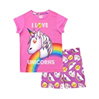 Emoji Girls Unicorn Pyjamas