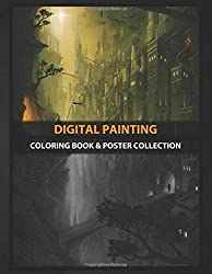Coloring Book & Poster Collection: Digital Painting The Lost City Digital Painting Photoshop Fantasy