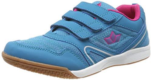 Lico Damen Boulder V Multisport Indoor Schuhe, Türkis/Pink, 41 EU