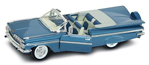 LUCKY Diecast Suerte 1959 Chevrolet Impala coleccionistas de Coches Diecast Modelo (Pizarra Azul)