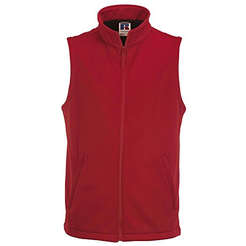 Russell Collection Men's Smart Softshell Gilet Black