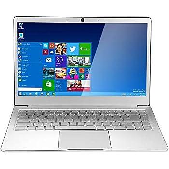 Haihuic Laptop ultradelgada FHD de 14 Pulgadas, a estrenar 1920 * 1080 Plata Intel Celeron