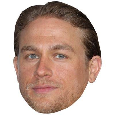Celebrity Cutouts Charlie Hunnam Maske aus Karton